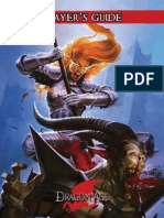 Dragon Age RPG, Set 2 - Player's Guide