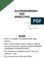 Field Programmable Gate Arrays [Fpga]
