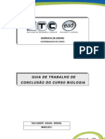 Guia Para Tcc - Biologia c11- Maio 2011