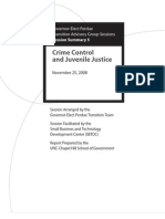 Crime Control and Juvenile Justice