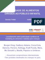 Publicidade de Alimentos para Crianças