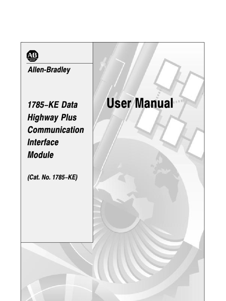 1785 Um052 En P Duplex Telecommunications Modem Data Highway Plus Wiring Diagrams