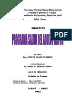 Proyecto Proyeccion Social REBECA