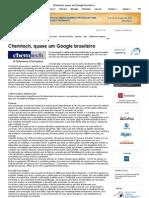 Chemtech, Quase Um Google Brasileiro _ Portal HSM