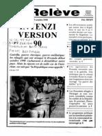 Inyenzi Version 90. La Releve du 19 octobre 1990
