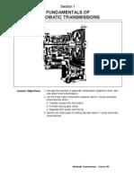 Sec 1 - Fundamentals of Automatic Transmissions