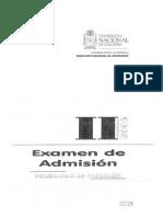 10 PruebaAdmision2005-2