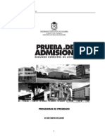 18 PruebaAdmision2009-2