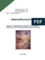 39677385 CUNHA Sergio a Da Umbanda a Manifestacao Do Espirito Para a Caridade