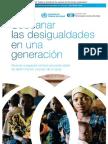 Comisión sobre determinantes sociales de la salud