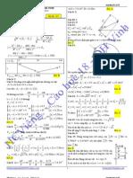 Lời giải chi tiết Đề thi thử Trường chuyên ĐH Vinh - Môn Vật lý - Lần 2 - 2012