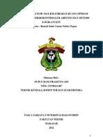 Jurnal Sistem Kendali Suhu & Kelembaban Ruang Operasi