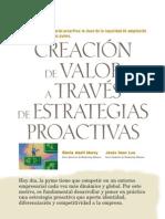 Creación de valor a través de estrategias proactivas