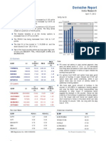 Derivatives Report 17th April 2012