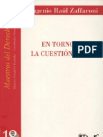 Eugenio Zaffaroni - En Torno de La Cuestion Penal