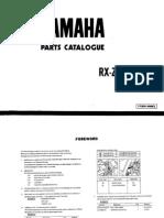 19871006 Yamaha RXZ 5SPEED Owner Manual