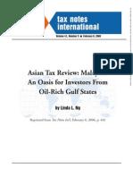 Article Malaysia Oasis Ng