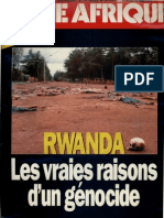 Rwanda . Les Vraies Raisons d'u genocide