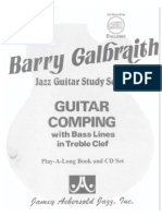 Barry Galbraith - Jazz Guitar Study Vol. 3 - Guitar Comping old 1986)