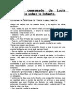 Articulo Censurado de Lucia Etxebarria Sobre La Infanta