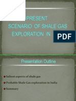 Scenario of Shale Gas Exploration in India
