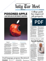 The Daily Tar Heel for April 17, 2012