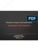 Radioactive Waste