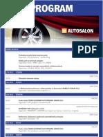 Sprievodný program výstavy Autosalon Bratislava 2012