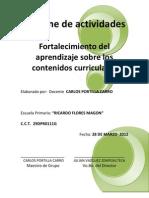 Informe de Regletas Carlos Poritlla Carro 28-03-12