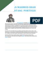 Sultan Mahmud Shah Menentang Portugis