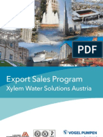 2012 Product Portfolio Xylem Water Solutions Austria