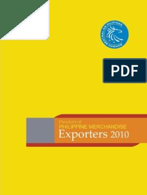 BSP Exporters 2010 | Metro Manila | Makati
