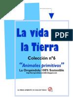 Animales primitivos-Colección-La vida en la Tierra  nº6