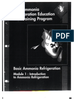 IIAR Ammonia Refrigeration Education And Training Program -- Module 1