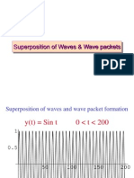 Wave Packets+Solution of EM Wave Eq