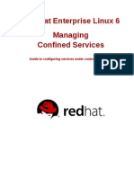 RHEL 6 Managing Confined Services