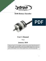 B106 Rotary Encoder User's Manual