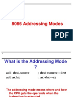Addressing Modes&Instructions