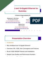 10 Gigabit Ethernet vs Infinibandbasic