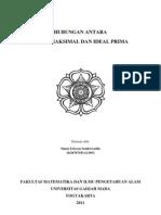 (PSA II) Hubungan Antara Ideal Maksimal Dan Ideal Prima