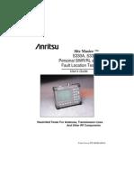 Anritsu Site Master S331A User Guide