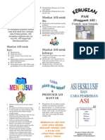 Leaflet ASI Printed