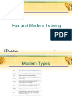 Audio Codes FAX and Modem Training