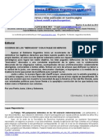 """Boletin Nº 23 de la Comision  Exiliados Aargentinos en Madrid - II entrega de """"Mordisquito"""""""