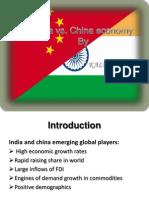 India vs. China Economy