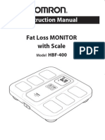 Hbf 400 Instruction Manual