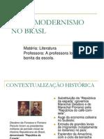 O PRÉ-MODERNISMO NO BRASL
