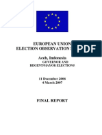 Aceh Elections 2006 EU Final_report_en