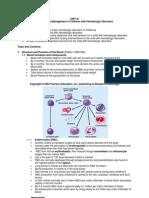 Unit 11_hematologic Disorders