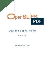 OpenSL ES Specification 1.0.1